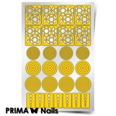 Prima Nails, Трафареты «Круги»
