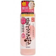 лосьон с изофлавонами сои и коэнзимом q10 sana soy milk haritsuya lotion