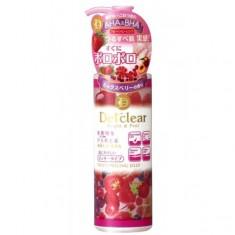пилинг-гель с aha и bha с эффектом скатывания meishoku aha&bha peeling jelly