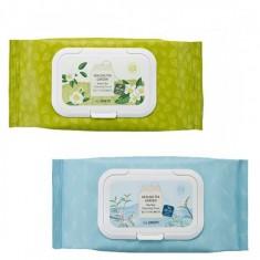 салфетки очищающие the saem healing tea garden cleansing tissue