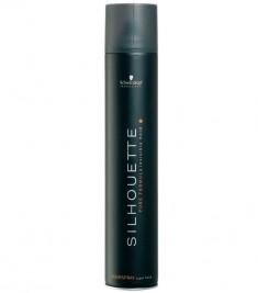 SCHWARZKOPF PROFESSIONAL Лак безупречный ультрасильной фиксации для волос / SILHOUETTE Pure Superhold 500 мл