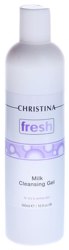 CHRISTINA Мыло молочное для сухой и нормальной кожи / Fresh Milk Cleansing Gel 300 мл