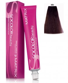 MATRIX 6BR краска для волос, темный блондин коричнево-красный / СОКОЛОР БЬЮТИ 90 мл