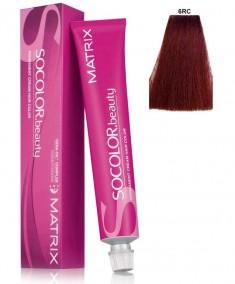 MATRIX 6RC+ краска для волос, темный блондин красно-медный+ / СОКОЛОР БЬЮТИ RED+ 90 мл