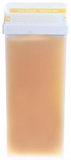 BEAUTY IMAGE Кассета с воском для тела, банановый / ROLL-ON 110 мл