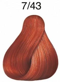 WELLA PROFESSIONALS 7/43 краска для волос, красный тициан / Color Touch 60 мл