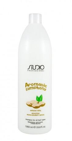 STUDIO PROFESSIONAL Шампунь для всех типов волос Молочко миндального ореха / Aromatic Symphony 1000 мл Kapous