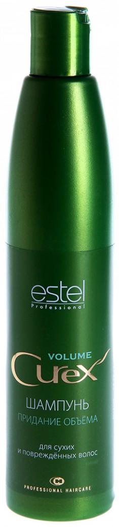 ESTEL PROFESSIONAL Шампунь для придания объема сухих и поврежденных волос / Curex Volume 300 мл