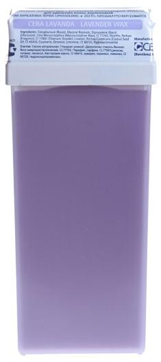 BEAUTY IMAGE Кассета с воском для тела, лаванда / ROLL-ON 110 мл