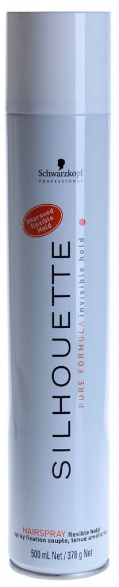 SCHWARZKOPF PROFESSIONAL Лак безупречный мягкой фиксации для волос / SILHOUETTE Pure FlexibleHold 500 мл
