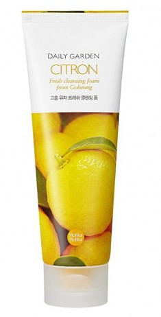 HOLIKA HOLIKA Пенка очищающая с цитрусом Дейли Гарден / Daily Garden Citron Fresh cleansing foam from Goheung 120 мл
