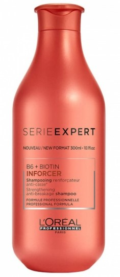 L'OREAL PROFESSIONNEL Шампунь укрепляющий против ломкости волос / ИНФОРСЕР 300 мл LOREAL PROFESSIONNEL