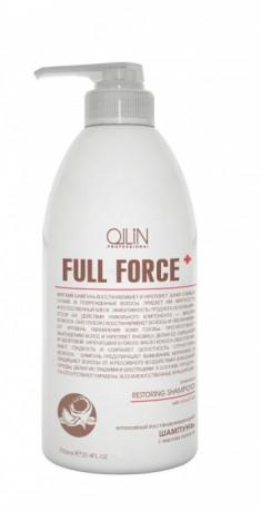 OLLIN PROFESSIONAL Шампунь интенсивный восстанавливающий с маслом кокоса / FULL FORCE 750 мл