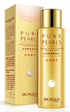BIOAQUA Лосьон увлажняющий / Pure Pearls 120 мл