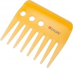 DEWAL PROFESSIONAL Гребень Prosun моделирующий, антистатик (желтый) 9 см