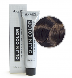 OLLIN PROFESSIONAL 5/1 краска для волос, светлый шатен пепельный / OLLIN COLOR 60 мл