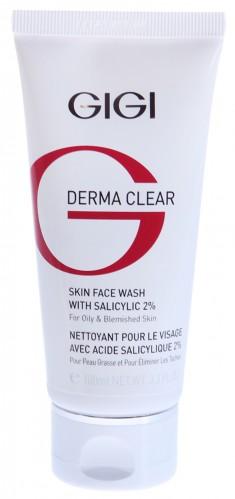 GIGI Мусс очищающий для проблемной кожи / Skin Face Wash DERMA CLEAR 100 мл