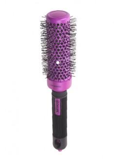 DEWAL PROFESSIONAL Термобрашинг Color, керамическое покрытие, нейлоновая щетина (малиновый) d 34/52 мм