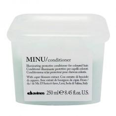 DAVINES SPA Кондиционер защитный для сохранения цвета волос / MINU conditioner 250 мл
