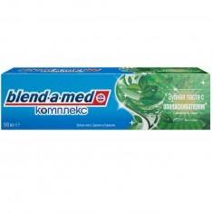 Blend-a-med зубная паста комплексный уход мята и чабрец 100мл