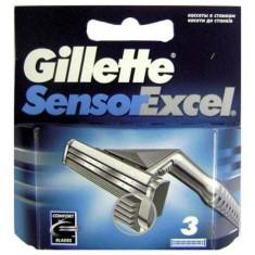 Gillette Sensor Excel сменные кассеты 3 шт