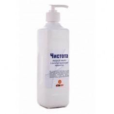 Жидкое мыло с антибактериальным эффектом Чистота 500 мл
