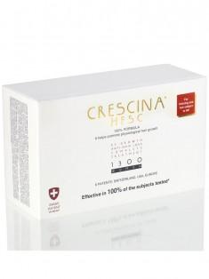 Crescina Комплекс 1300 для женщин Лосьон для стимуляции роста волос №20 + Лосьон против выпадения волос №20 3,5 мл