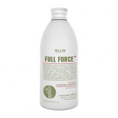 Ollin Professional FULL FORCE Очищающий шампунь для волос и кожи головы с экстрактом бамбука 300мл