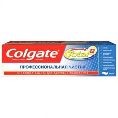 Колгейт Зубная паста TOTAL12 Профессиональная чистка паста 75мл COLGATE