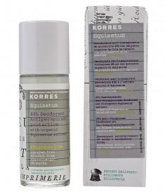 Korres Дезодорант-антиперспирант с экстрактом хвоща для чувствительной кожи (без отдушек) 48 часов 30 мл