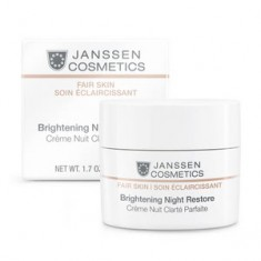 Крем осветляющий ночной, 50 мл (Janssen)