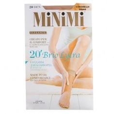 Носки женские MINIMI BRIO 20 den Caramello 2 пары
