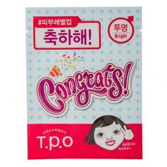 Маска для лица T.P.O CONGRATS для сияния кожи 20 мл