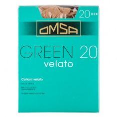 Колготки женские в коробочке OMSA GREEN 20 den caramello р-р 2