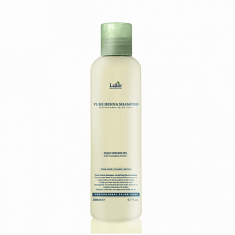 шампунь для волос с хной укрепляющий  la'dor pure henna shampoo