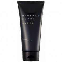 пенка для умывания увлажняющая the saem mineral homme black cleansing foam(n2)