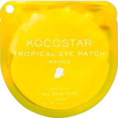 Гидрогелевые патчи для глаз Тропические фрукты Tropical Eye Patch Mango Single KOCOSTAR