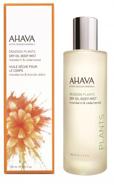 AHAVA Масло сухое для тела, мандарин и кедр / Deadsea Plants 100 мл
