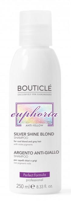 BOUTICLE Шампунь серебряный с анти-желтым эффектом / Silver Shine Blond Shampoo 250 мл
