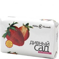 Туалетное мыло Дивный сад Клубника НЕВСКАЯ КОСМЕТИКА