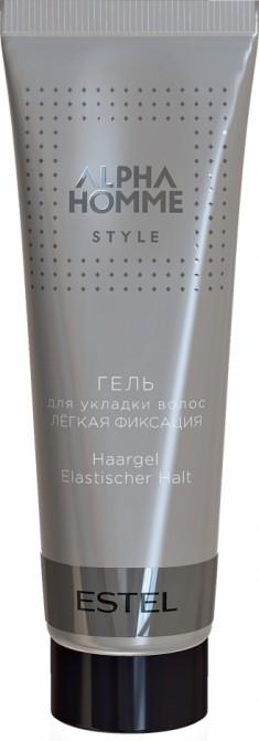 ESTEL PROFESSIONAL Гель легкой фиксации для укладки волос, для мужчин / ALPHA HOMME 50 мл