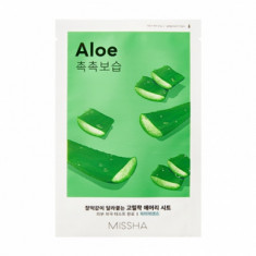 Маска тканевая увлажняющая с алоэ MISSHA Airy Fit Sheet Mask (Aloe)