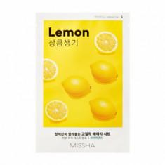 Маска тканевая освежающая с лимоном MISSHA Airy Fit Sheet Mask (Lemon)