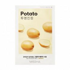 Маска тканевая увлажняющая с картофелем MISSHA Airy Fit Sheet Mask (Potato)
