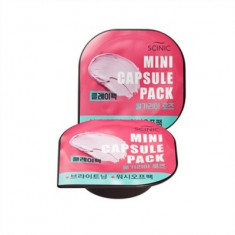 Mini Capsule Pack Clay Bulgarian Rose Scinic