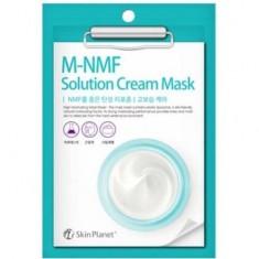 Маска для лица тканевая увлажняющая Skin Planet M-MNF Solution Cream Mask Mijin