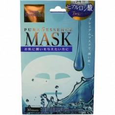 Маска для лица c тремя видами гиалуроновой кислоты Pure5 Essence Premium Japan Gals