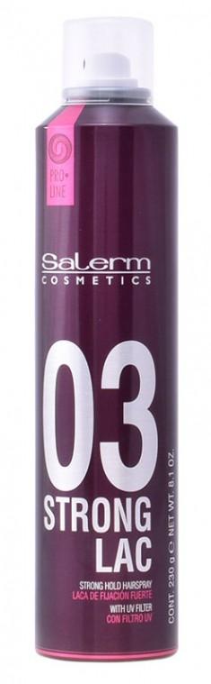 SALERM COSMETICS Лак сильной фиксации для волос / Strong Lac 300 мл