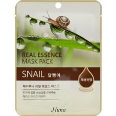 Тканевая маска с улиткой Juno Real Essence Mask Pack (Snail) 25мл