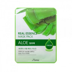 Тканевая маска с алоэ Juno JLuna Real Essence Mask Pack Aloe 25мл